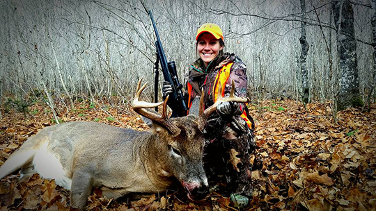 Katie, OMM Outfitters New Brunswick Whitetail Deer Hunts